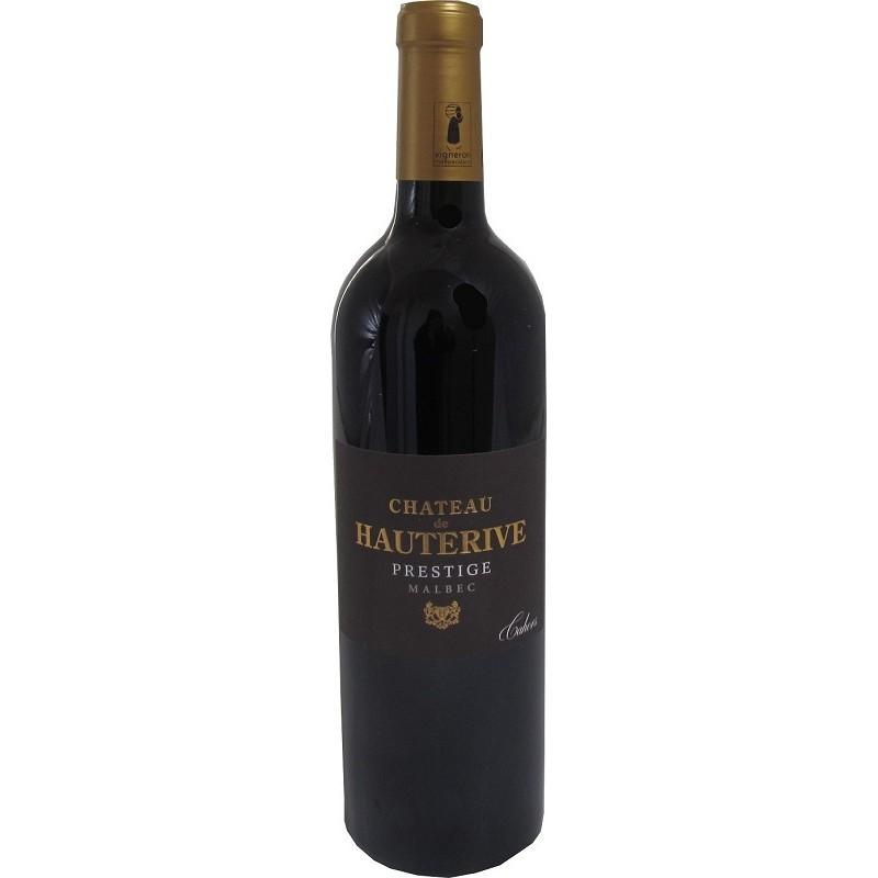 Château de Hauterive Cuvée Prestige CAHORS Red wine barrel AOP 75 cl
