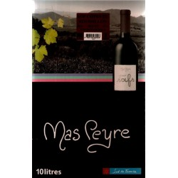 Mas Peyre COTES OF THE ROUSSILLON Red wine AOC Wine fountain BIB 10 L