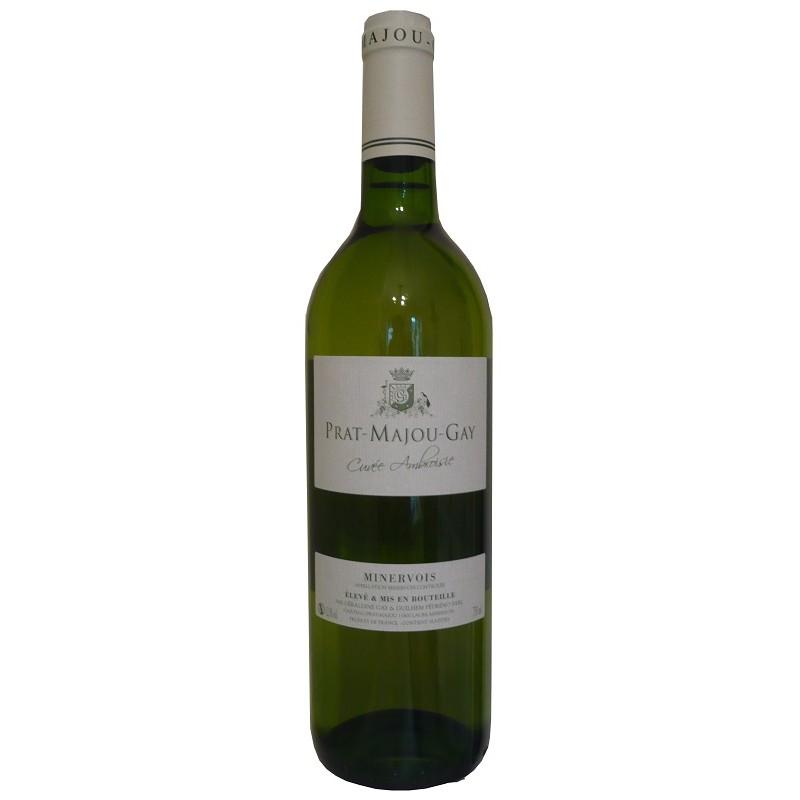 Château Prat Majou MINERVOIS Roquequilla White wine PDO 75 cl