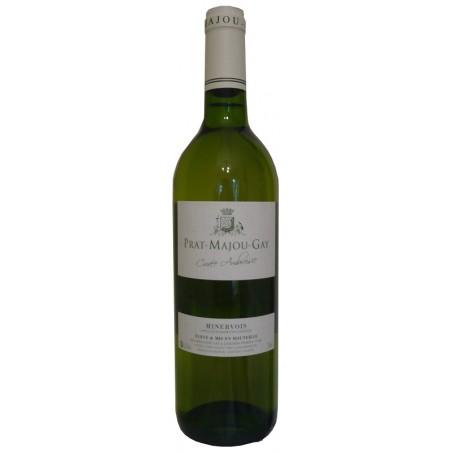 Château Prat Majou MINERVOIS Roquequilla White wine PDO 75 cl organic