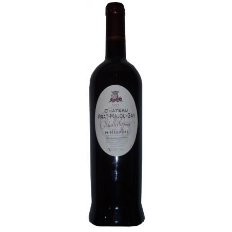 Castillo Prat Majou Minervois Vieilles Vignes rojo vino AOP 75 cl orgánico