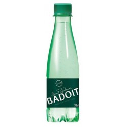 Agua BADOIT PET botella de plástico 33 cl