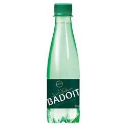 Water BADOIT PET plastic bottle 33 cl