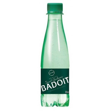 Eau BADOIT bouteille plastique PET 33 cl
