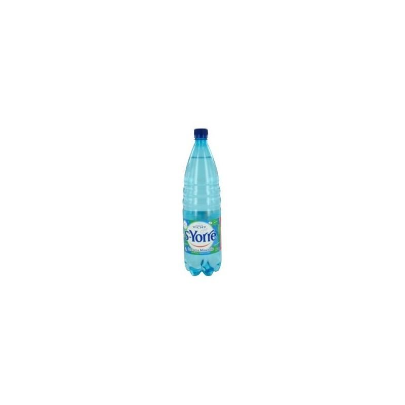 Agua VICHY SAINT YORRE botella de plástico 50 cl