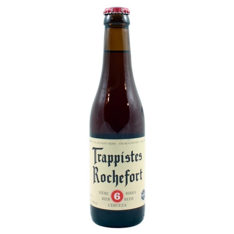 Beer ROCHEFORT 6 Brown Belgian 7.5 ° 33 cl