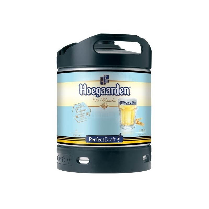 Beer HOEGAARDEN White Belgian 4.9 ° was 6 L Machine Perfect Draft Philips (7.10 EUR set included in the price)