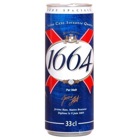 Birra 1664 Biondo Francese 5.5 ° scatola di metallo 33 cl
