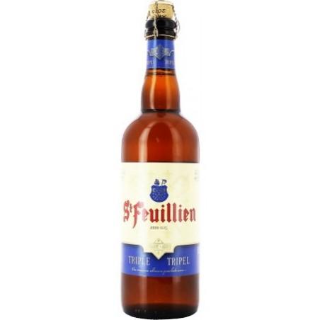 Beer ST FEUILLIEN Triple Belgium 8.5 ° 75 cl
