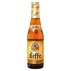 Blond beer LEFFE Belgian 6.6 ° - 24 bottles of 33 cl in consigned glass (deposit of 4,20 € included in the price)