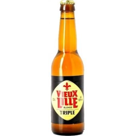 Bière VIEUX LILLE Triple Française 8.5° 33 cl