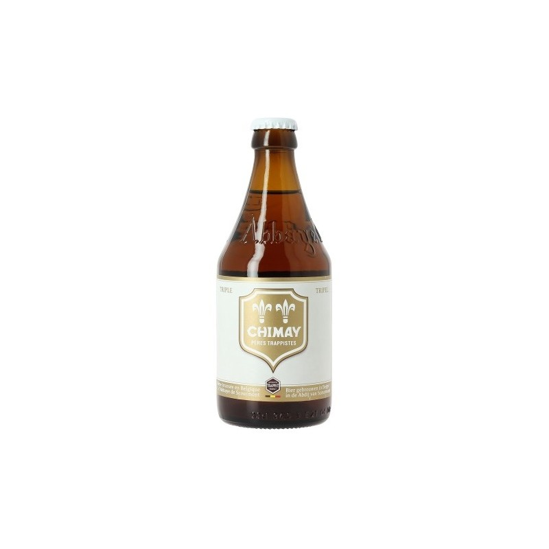 Beer CHIMAY BLANCHE Triple Belgian 8 ° 33 cl