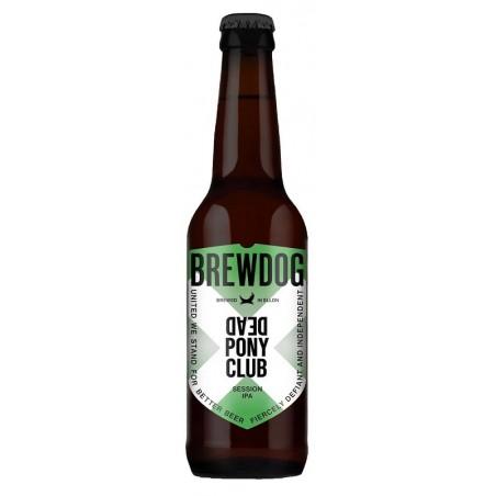 Beer BREWDOG DEAD PONY CLUB IPA Blond Scotland / Ellon 3.8 ° 33 cl