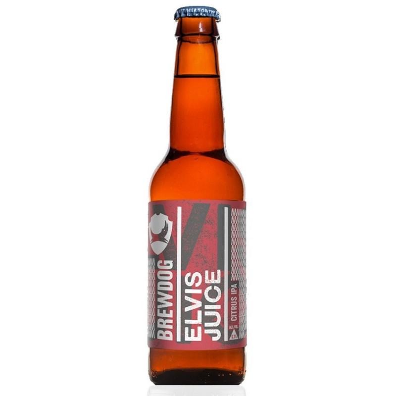 Beer BREWDOG ELVIS JUICE IPA Amber Scotland / Ellon 6.5 ° 33 cl