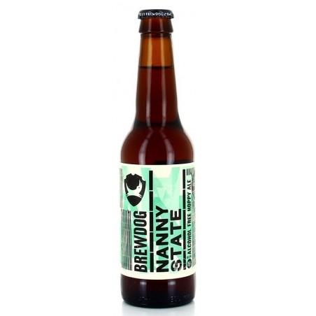Bière BREWDOG NANNY STATE Ambrée Ecosse/Ellon Sans Alcool 0.5° 33 cl