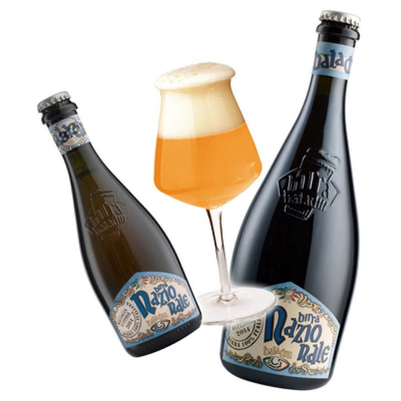Beer BALADIN NAZIONALE Blond Italy 6.5 ° 33 cl