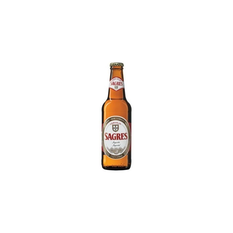 Beer SAGRES Blond Portugal 5 ° 33 cl