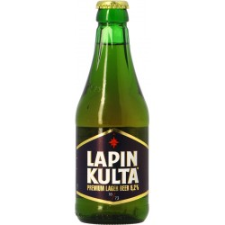 Bier LAPIN KULTA Lager Finnland 5.2 ° 31.5 cl