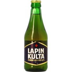 Birra LAPIN KULTA Chiara Finlandia 5.2 ° 31.5 cl SOURIRE DES SAVEURS
