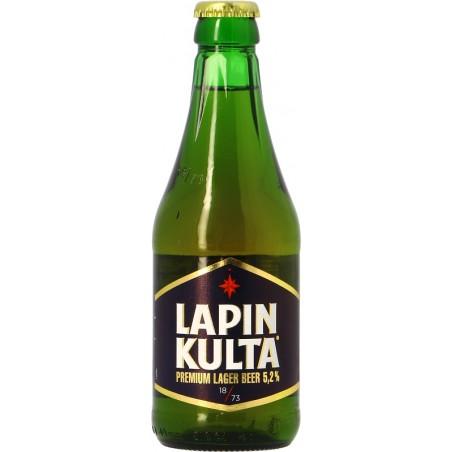 Beer LAPIN KULTA Blond Finland 5.2 ° 31.5 cl