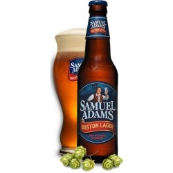 Birra SAMUEL ADAMS BOSTON LAGER Ambra USA / Massachusetts 4,8 ° 33 cl