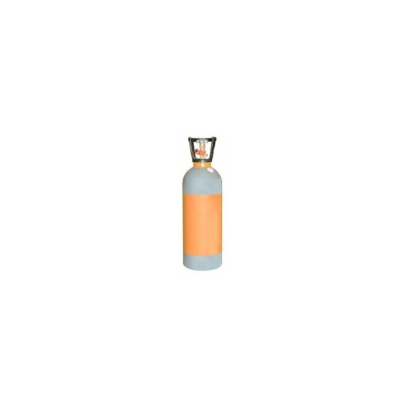 Tube of 10 kg mixed gas CO2 + Nitrogen (83,50 EUR deposit included in the price)