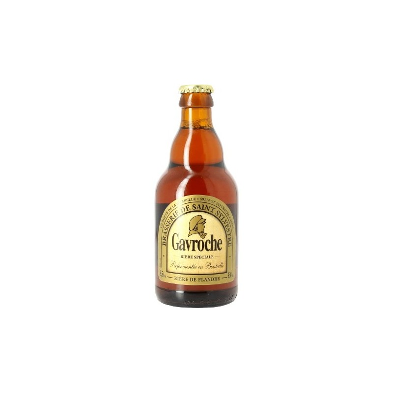 GAVROCHE beer Ambrée France 8.5 ° 33 cl