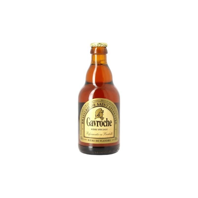 GAVROCHE beer Ambrée France 8.5 ° 33 cl