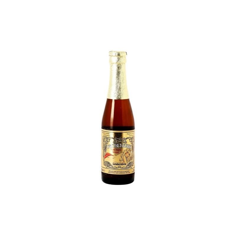 Beer LINDEMANS PECHERESSE Blonde with Belgian peach 2.5 ° 25 cl