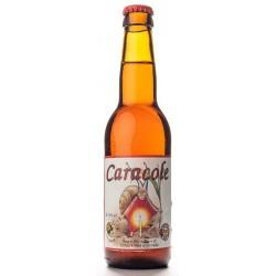 Cerveza CARACOLE Amber Orgánico belga 7.5 ° 33 cl