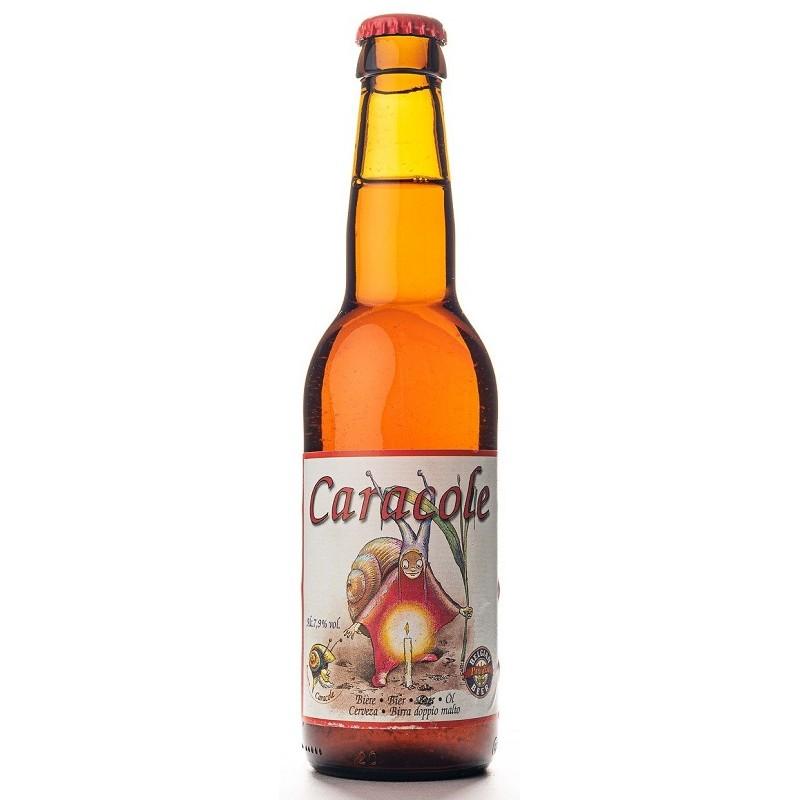Bière CARACOLE Ambrée BIO Belge 7.5° 33 cl