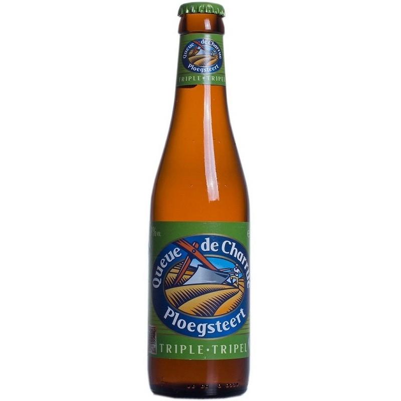 Beer QUEUE DE CHARRUE Triple Belgium 9 ° 33 cl