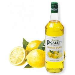 SYRUP of sweet lemon Bigallet 1 L