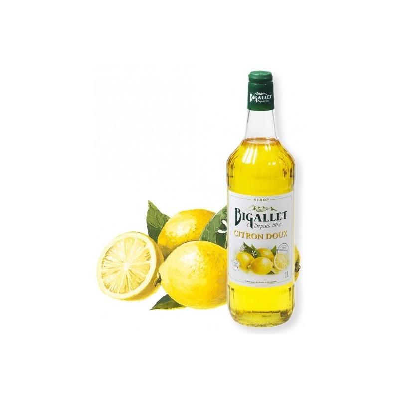 JARABE de limón dulce Bigallet 1 L