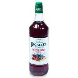 SYRUP Grenadine fruity Bigallet 1 L