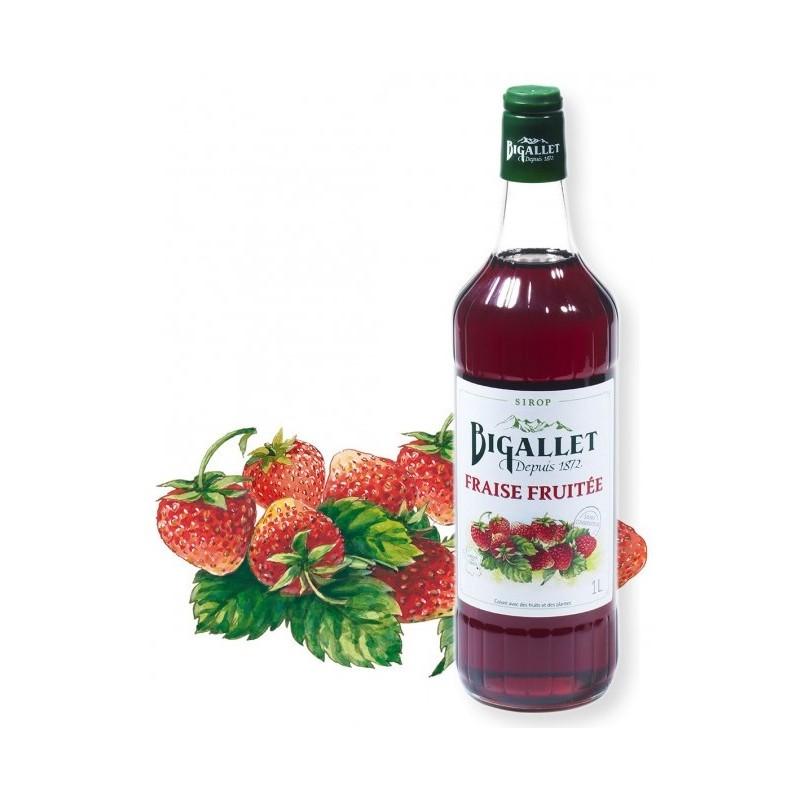 sciroppo di fragola Fruttato Bigallet 1 L