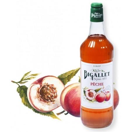 melocotón jarabe Bigallet 1 L