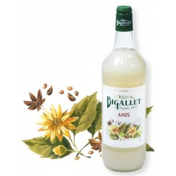 SYRUP of anise Bigallet 1 L