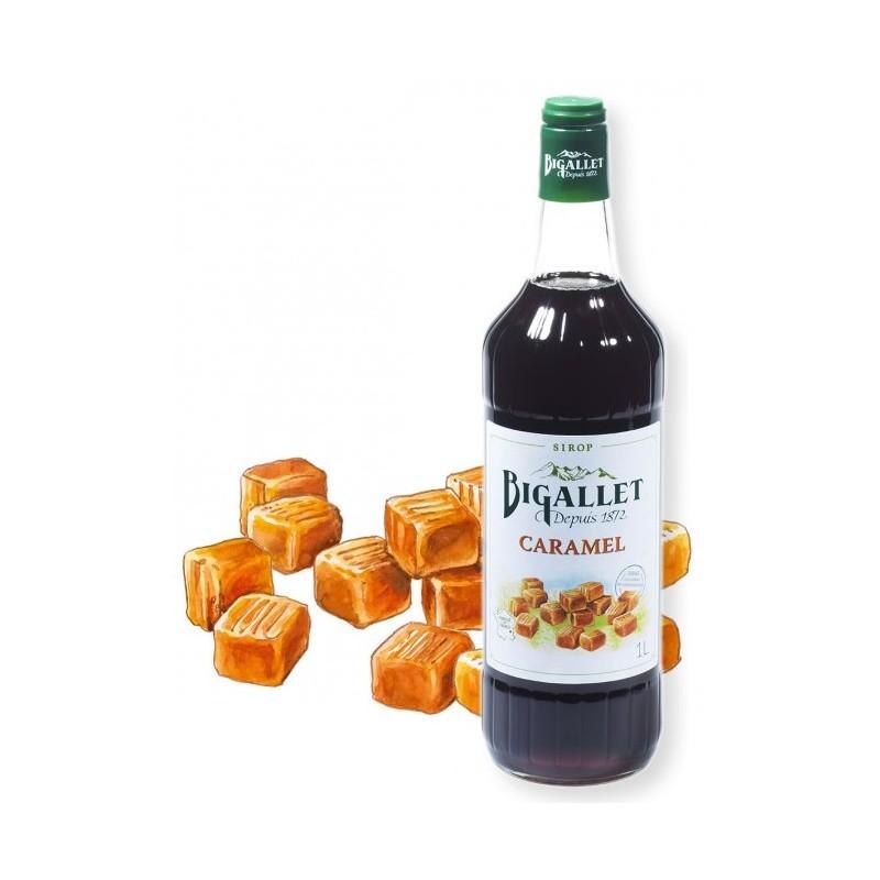 SYRUP Caramel Bigallet 1 L