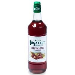 Chestnut SYRUP Bigallet 1 L