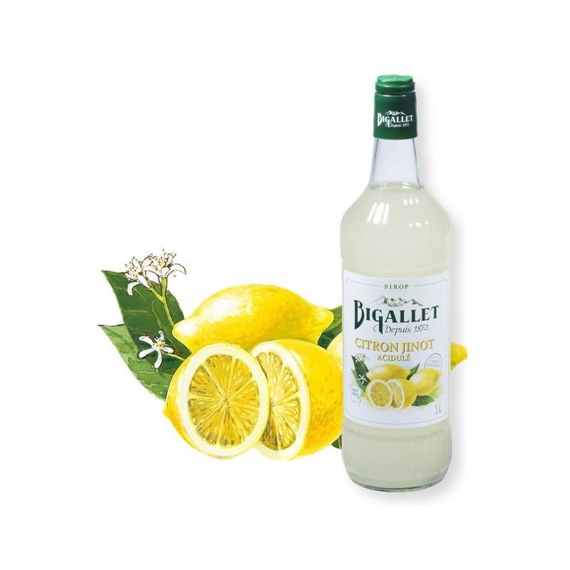 jarabe de limón Jinot Bigallet 1 L