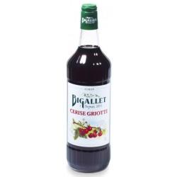Jarabe de cereza y cereza Bigallet 1 L
