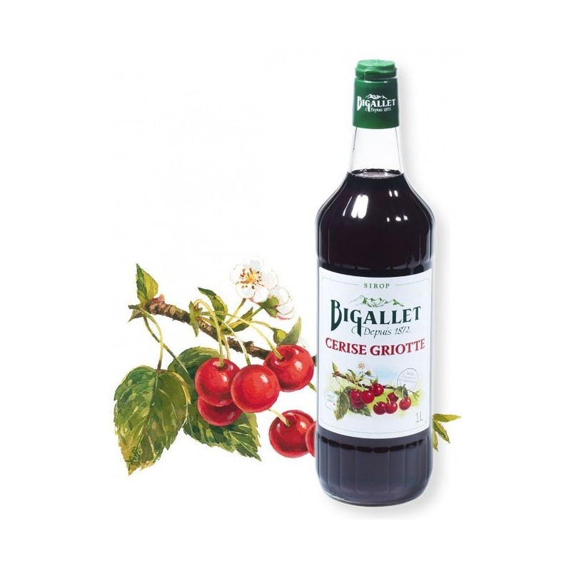 Cherry syrup Bigallet 1 L