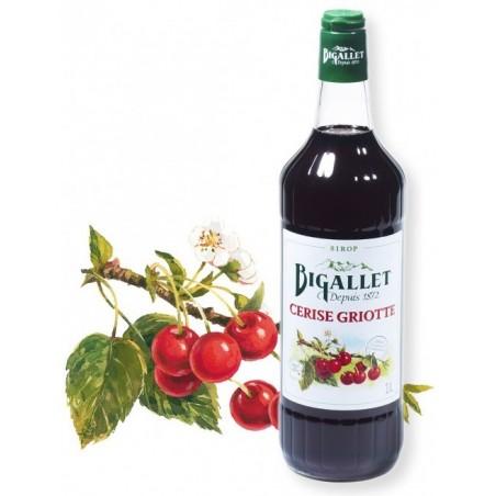 Sciroppo di ciliegie Bigallet 1 L
