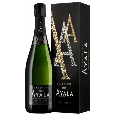 Ayala CHAMPAGNE Brut Majeur White PDO 75 cl with its case