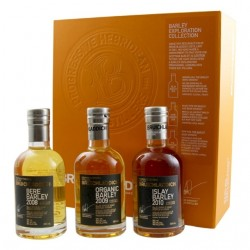 WHISKEY Bruichladdich Barley Exploration 50 ° 3 x 20 cl in its gift box