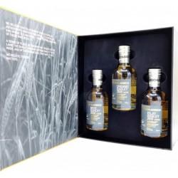WHISKY Bruichladdich Barley Exploration 50° 3 x 20 cl dans son  coffret cadeau