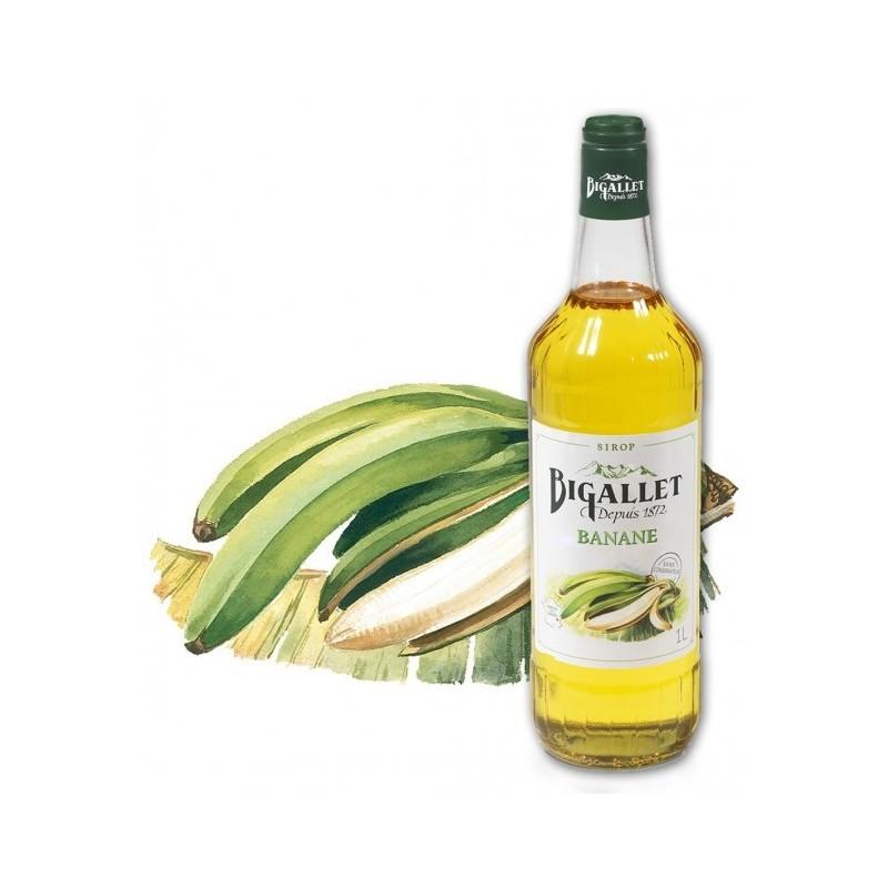 SIROP de Banane Bigallet 1 L