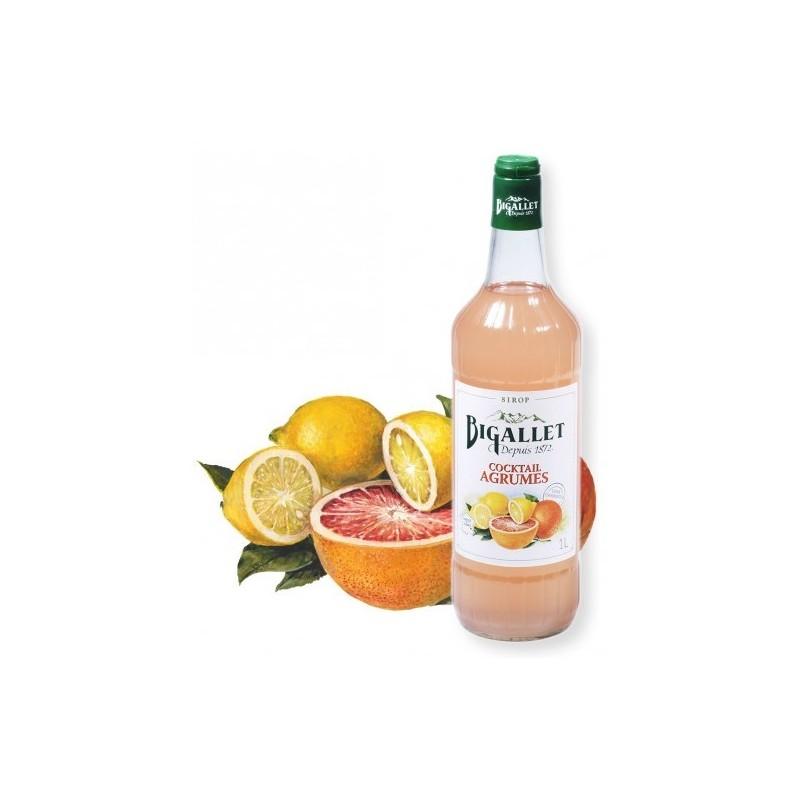 Citrus Cocktail Syrup Bigallet 1 L