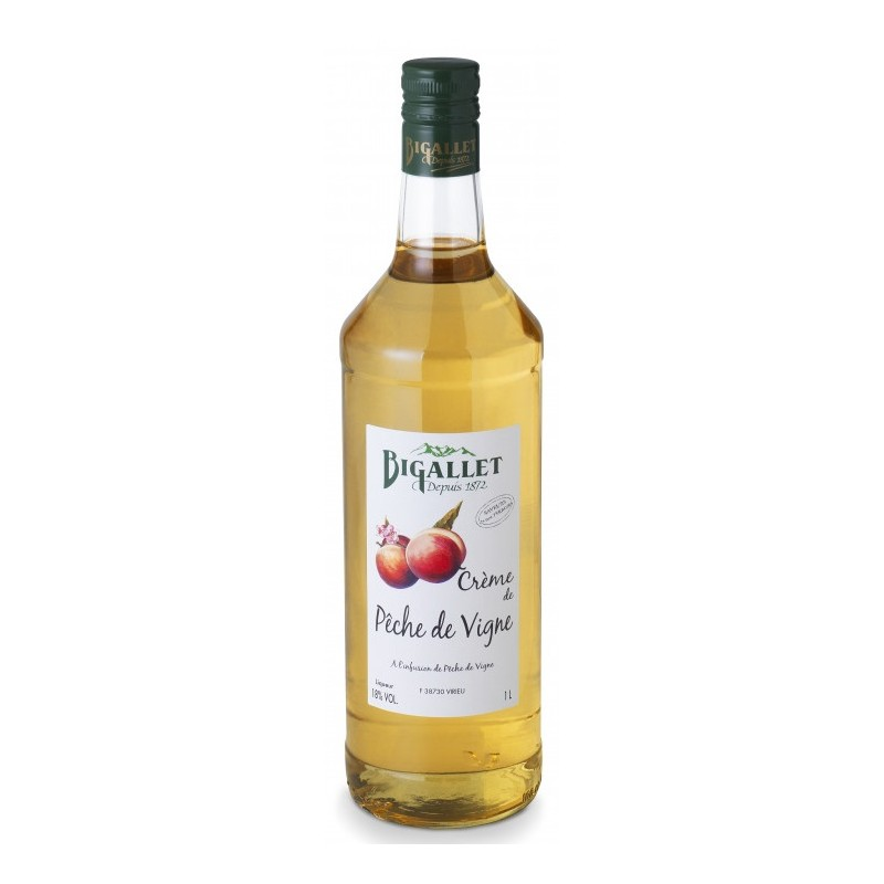 Vine Peach Cream Bigallet 18° 1 L